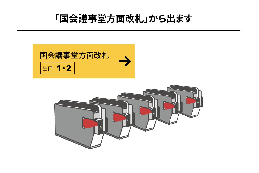 有楽町線桜田門駅からのアクセス1